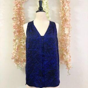 Rebecca Taylor 100% Silk Top Size 4